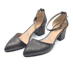 Womens Thick Heel Casual Shoes Platinçatlak PLA32-405