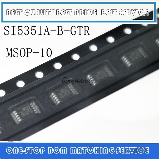 5 PCS 30 Novos PCS SI5351A B GTR SI5351A A GTR SI5351A SI5351 SI 5351 MSOP10 Originais