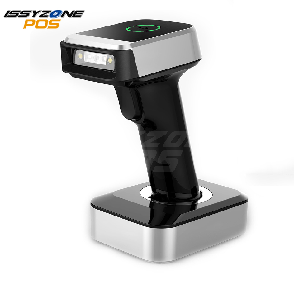 ISSYZONEPOS Barcode Scanner 1D 2D QR Bluetooth Barcodes Reader Handed Scanner For Windows iOS Android Support Data Matrix PDF417