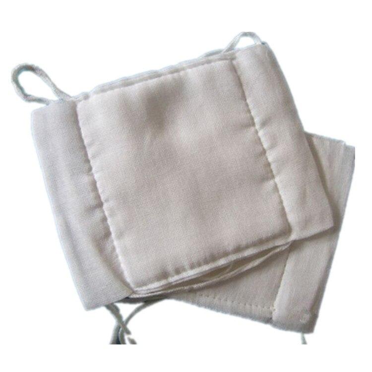 General Degreasing Cotton Gauze Mask Bandage Cloth Face Mask Dust Respirator Haze-resistant Mask Food Grade Packing Bags