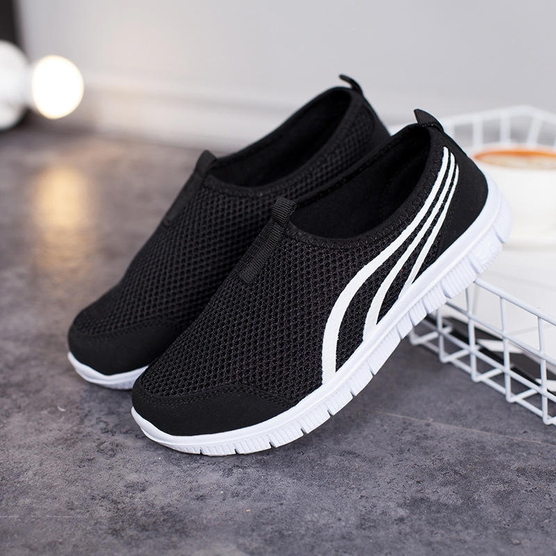 Summer Mesh Men Shoes Sneakers Breathable Flat Shoes Slip-on Sport Trainers Comfortable Lightweight Men Shoes Zapatillas Hombre 4
