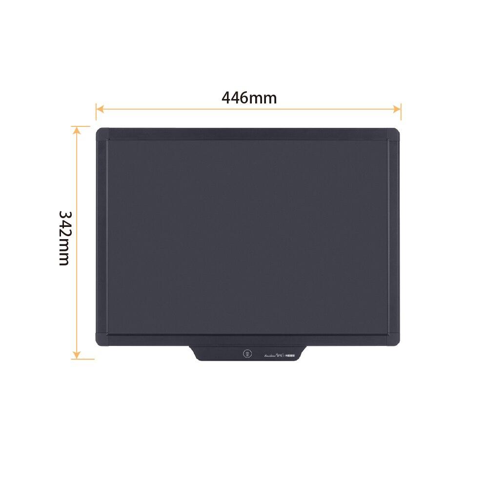 Tableta de escritura LCD de 20 pulgadas, tableta de dibujo Digital, almohadillas de escritura, portátil, tableta tipo pizarra electrónica, tablero ultrafino - 5