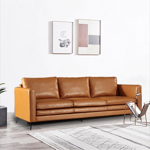 U-BEST Italian Minimalist Three Person Sofa 2