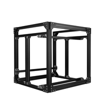 Black Aluminum Extrusion BLV mgn Cube Frame kit & Hardware Kit For DIY CR10 3D Printer Z height 565MM