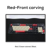 PBT mekanik klavye Keyscaps OEM profil 104 tuşları 60% 68% 80% klavye GK61 Anne Pro 2 NOPPOO IKBC GANSS RK KBT FICO