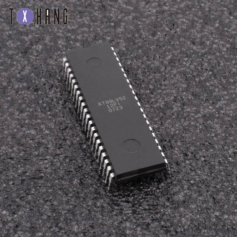 1/5 шт AT89LV52-12PI 40 контактов 8-битный микроконтроллер с 8K байтами Flash IC diy electronics