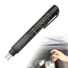 Accurate Oil Quality Check Pen Universal Brake Fluid Tester Car Brake Liquid Digital Tester Vehicle Auto Automotive Testing Tool cheap EAFC other 2 5cm 15cm Less 1W Plastic Engine Analyzer 1 5V