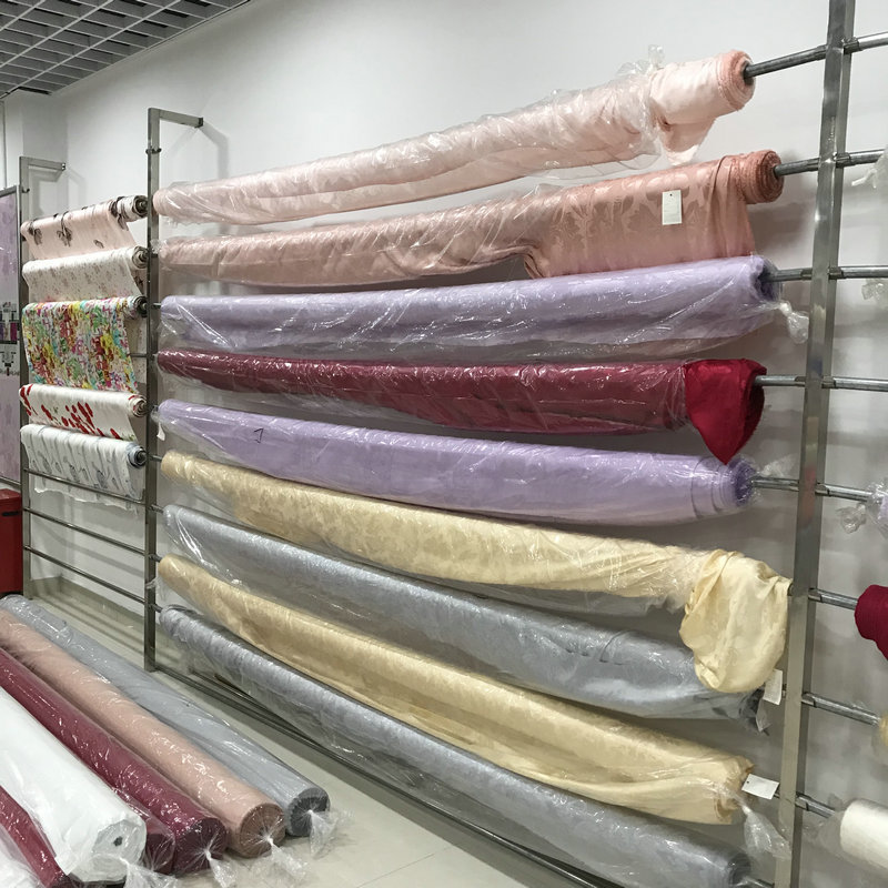 Silk Fabrics For Home Textile Fabrics Bedding 2.9meter Width 100% Pure Silk 19mill Jacquared Flower High-end Free Ship