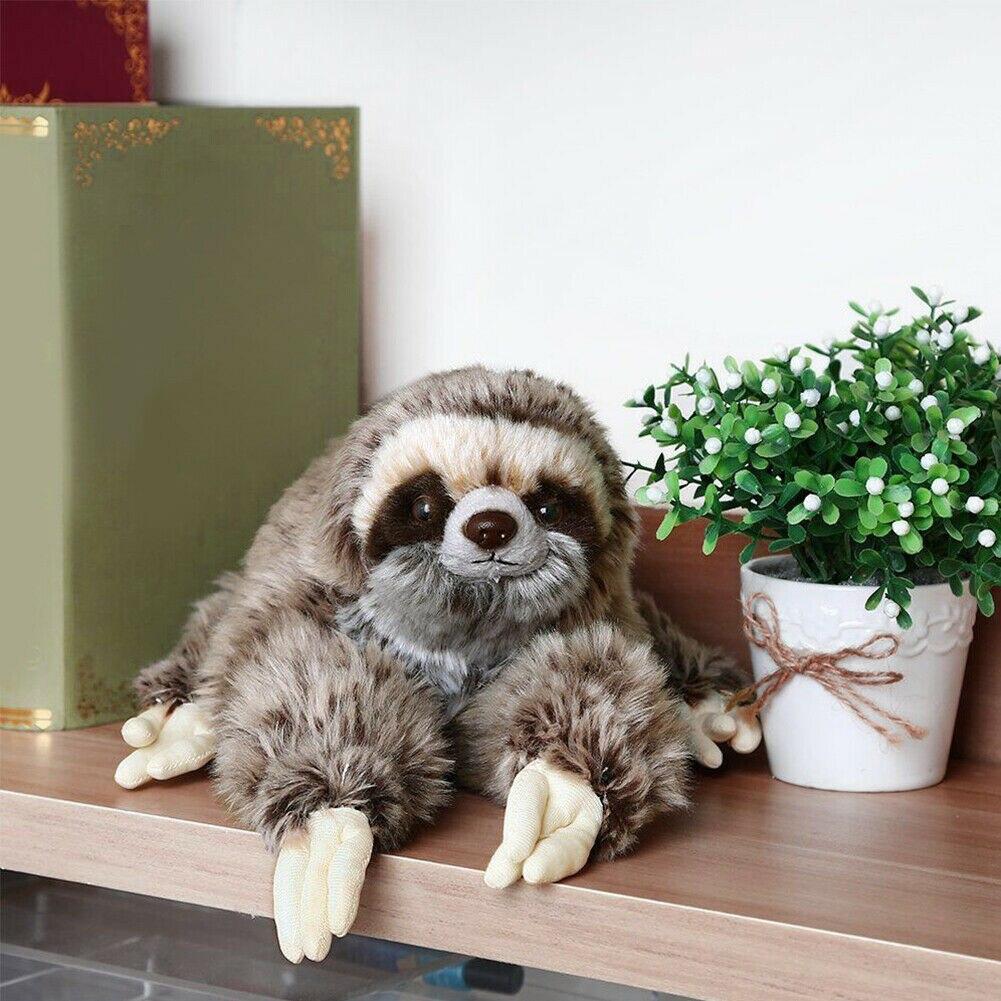 40cm Cute Animal Giant Sloth Stuffed Plush Doll Soft Toys Pillow Cushion Gifts