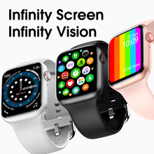 Fashion smart watch male and female bluetooth call 44 mm 1.75 inch full touch screen fitness tracker blood pressure clock