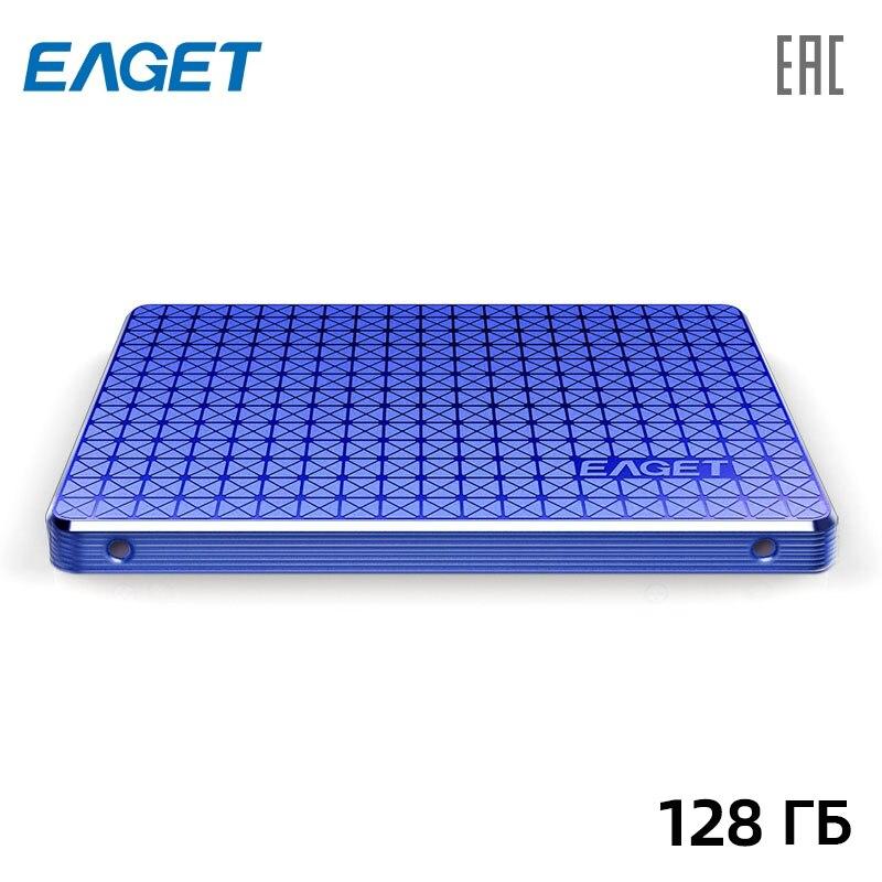 Внутренний твердотельный накопитель EAGET SSD 128 ГБ 2,5 SATA3
