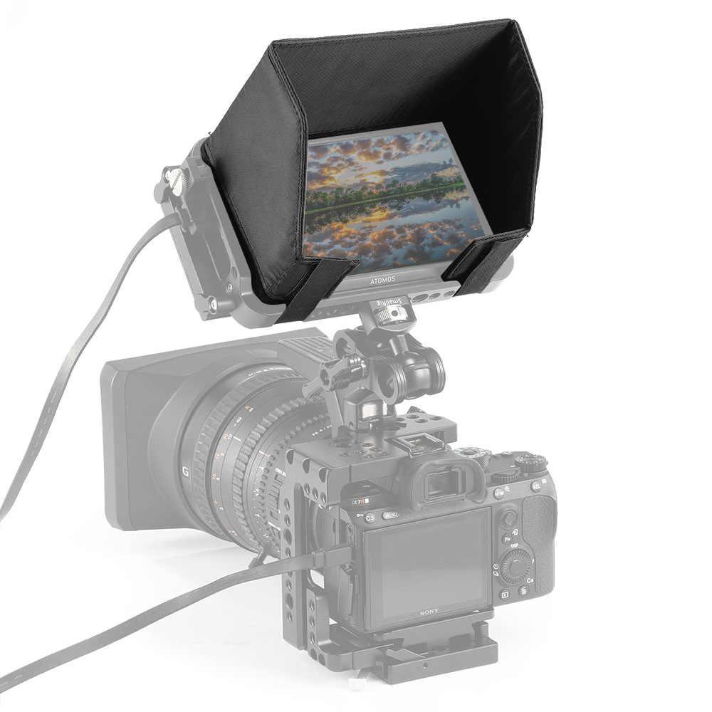 "SmallRig pantalla LCD parasol Atomos Ninja V 5 ""4K HDMI Monitor de registro jaula protector solar Hood- 2269"