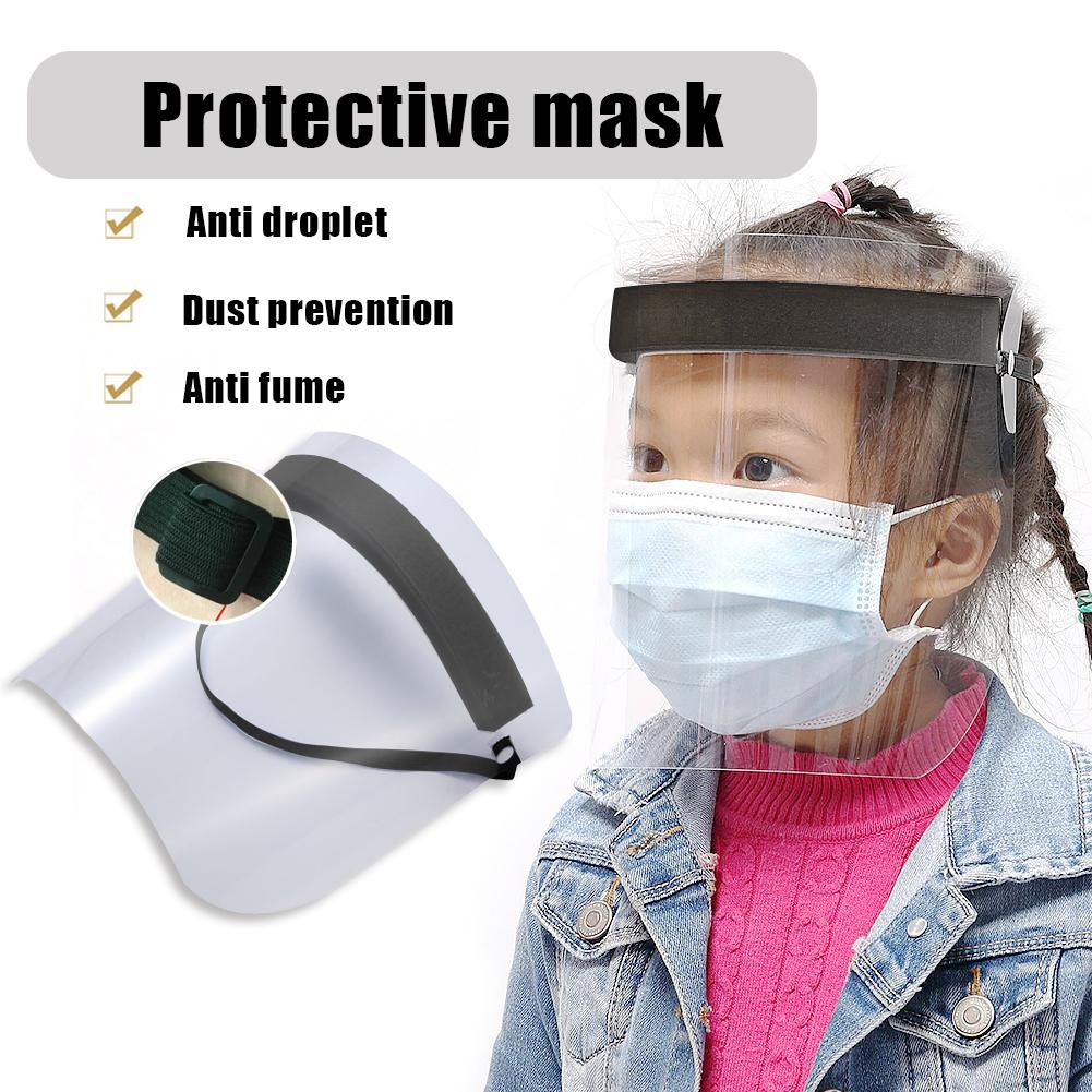 Protective Face Masks Adjustable Anti Splash Dust-proof Full Face Cover Mask Visor Shield Full Face Cover Mask Women Hat Cap