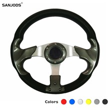 Racing Steering Wheel Golf 7 Rudder Moving Modified 13 Inch 350mm Aluminum Steering Wheel wheel page 7