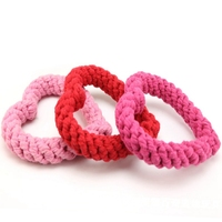 Hand woven Cotton Rope Toys Pet Toys Dog Rope Ball Chew Toys Teeth Cleaning Pet Toy for Small Medium Dogs Pet Products
