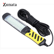 Portable LED Emergency Flashlight 80LEDs 40W Safety Work Light Hanging Magnetic Car Inspection Repair Handleld Work Lamp