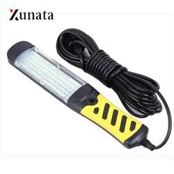 Portable LED lampe de travail d'urgence COB 40W 80LED s suspendus magnétique voiture Inspection réparation lampe de poche sécurité Handleld EU lampe de travail