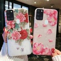 Luxus Mädchen Dame Telefon Fall Für Samsung Galaxy A01 A21S A51 S20 FE A11 A31 Zurück abdeckung für Samsung S 20 EINE 11 31 21S 51 zurück fällen