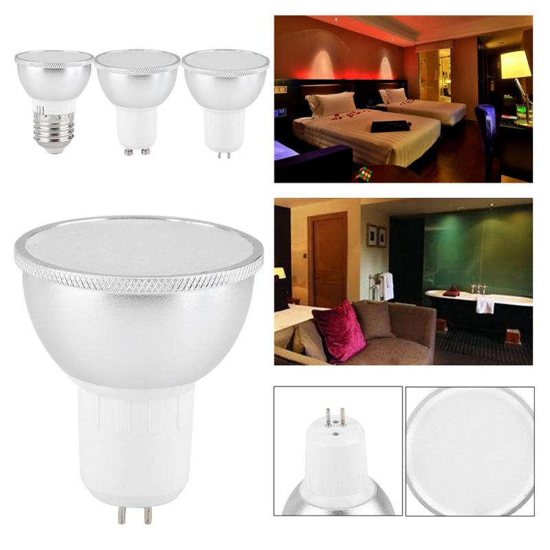GU10/GU5.3/E27 WiFi Smart Bulbs 6W LED Lights Lamp Support Dimmable/Music/Voice Control Lampara Work With Google/Alexa/IFTTT