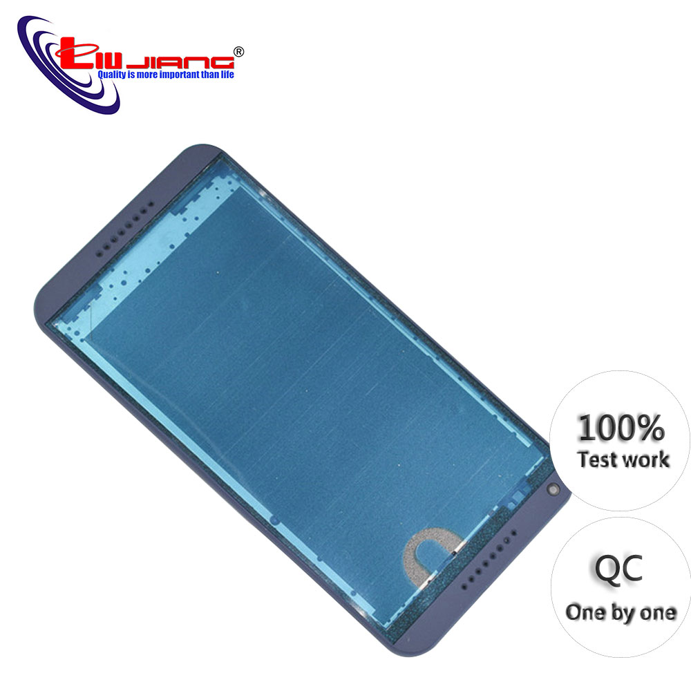 Original New Middle Frame Front Housing Cover For HTC Desire 816 D816 Housing Case With Power Volume Button Replacement title=