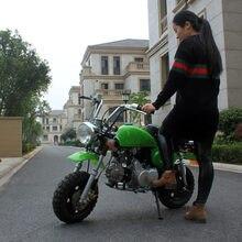 100cc одиночный цилиндр 80 км/ч топлива Ретро Скутер Досуг место автомобиль дети внедорожные взрослых бензин Высокая гонка двухколесный