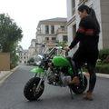 100cc single cylinder 80Km/h fuel retro scooter leisure venue car children off-road adult gasoline high race two-wheeler