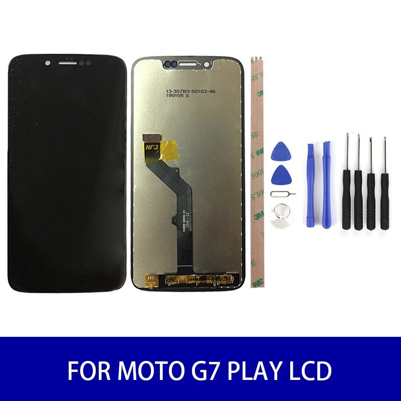 "AAA Quality For 5.7"" Motolora Moto G7 Play Xt1592 Lcd Display Touch Screen Panel Digitizer Assembly Screen Replacement <font><b>Parts</b></font> image"