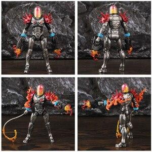 "Image 3 - オリジナルミリリットル伝説宇宙ゴーストライダー 6 ""アクションフィギュア火災鞭なしバイクから車両セットライダーシリーズおもちゃ人形"