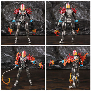 """Image 3 - Original ML Legends Cosmic Ghost Rider 6"""" Action Figure Fire Whip Without Motorbike From Vehicle Set Riders Series Toys Doll"""