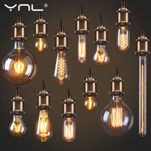 Электрическая лампочка эдисона светильник e27 подвесной в стиле