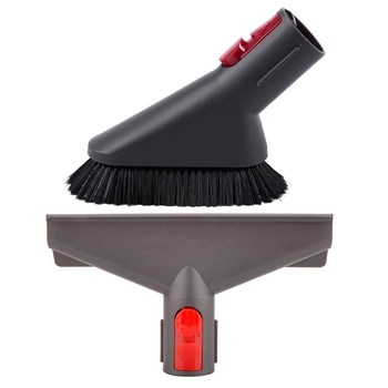2x Vacuum Cleaner Dust Soft Brush /Bed Head Suction Head Suitable for Dyson V7 V8 V10