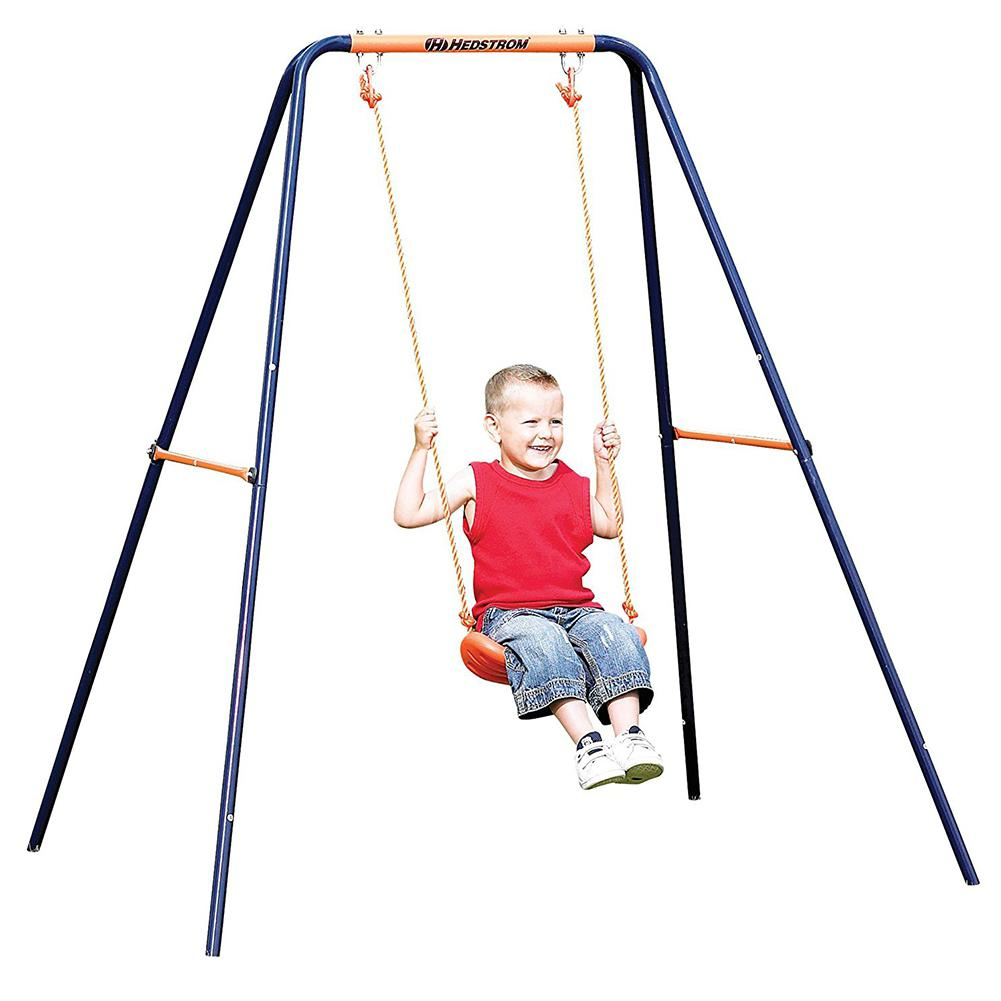 43*17*4cm Wooden Garden Swing Kids Hanging Seat Toys With Adjustable Ropes Indoor Outdoor Toys Rainbow Curved Board Swing Chair