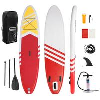 Inflatable Surfboard 10.5'x30 X6 Surfboard Stand Up Paddle Surfing Board Water Sport Sup Board + Pump Safety Rope Tools Kit