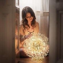 Lustre en cristal de pissenlit, design créatif, éclairage d'intérieur, idéal pour un salon de coiffure ou un salon de coiffure