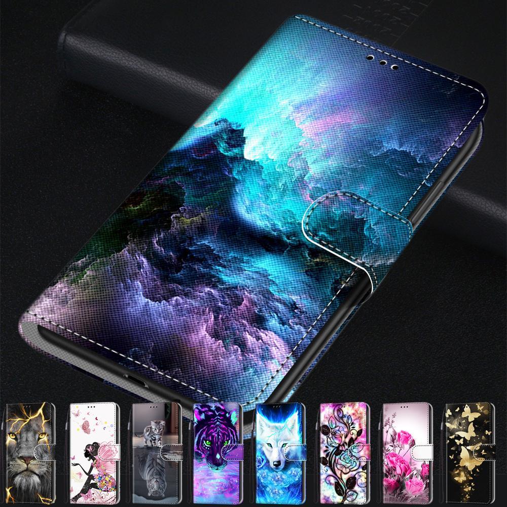 עבור Huawei P9 P8 לייט 2017 מחזיקי כרטיס ארנק טלפון Huawei Honor 8 Lite מקרה עור מפוצל Flip כיס חזרה כיסוי Coque