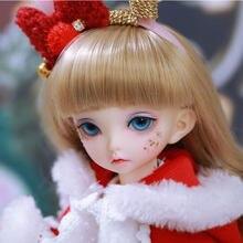 Fairyland littlefee luna fullset terno 1/6 bjd yosd boneca napi lcc presente de natal