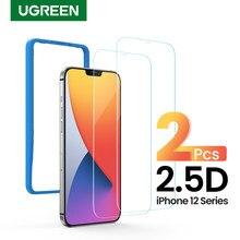 UGREEN Telefon Screen Protector für iPhone 12 Mini 12 Pro 2,5 D Klar Gehärtetem Glas Screen Protector Film für iPhone 12 Pro Max