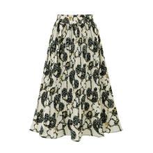 Женская плиссированная юбка vogue элегантная повседневная шифоновая
