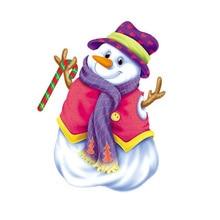 Pupazzo di neve Di Natale Fustelle 2019 Vintage Scrapbook Album