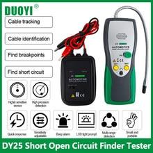 Duoyi dy25 automotivo localizador de curto circuito aberto testador caminhões de carro cabo rastreador carro scanner circuito aberto curto circuito dc testador