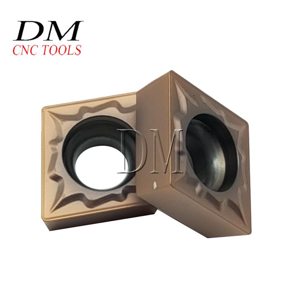 10 Uds CCMT09T304 ZM1136 insertos de carburo herramientas de corte de torno CNC carburo torneado bladesCCMT09T304 alta calidad