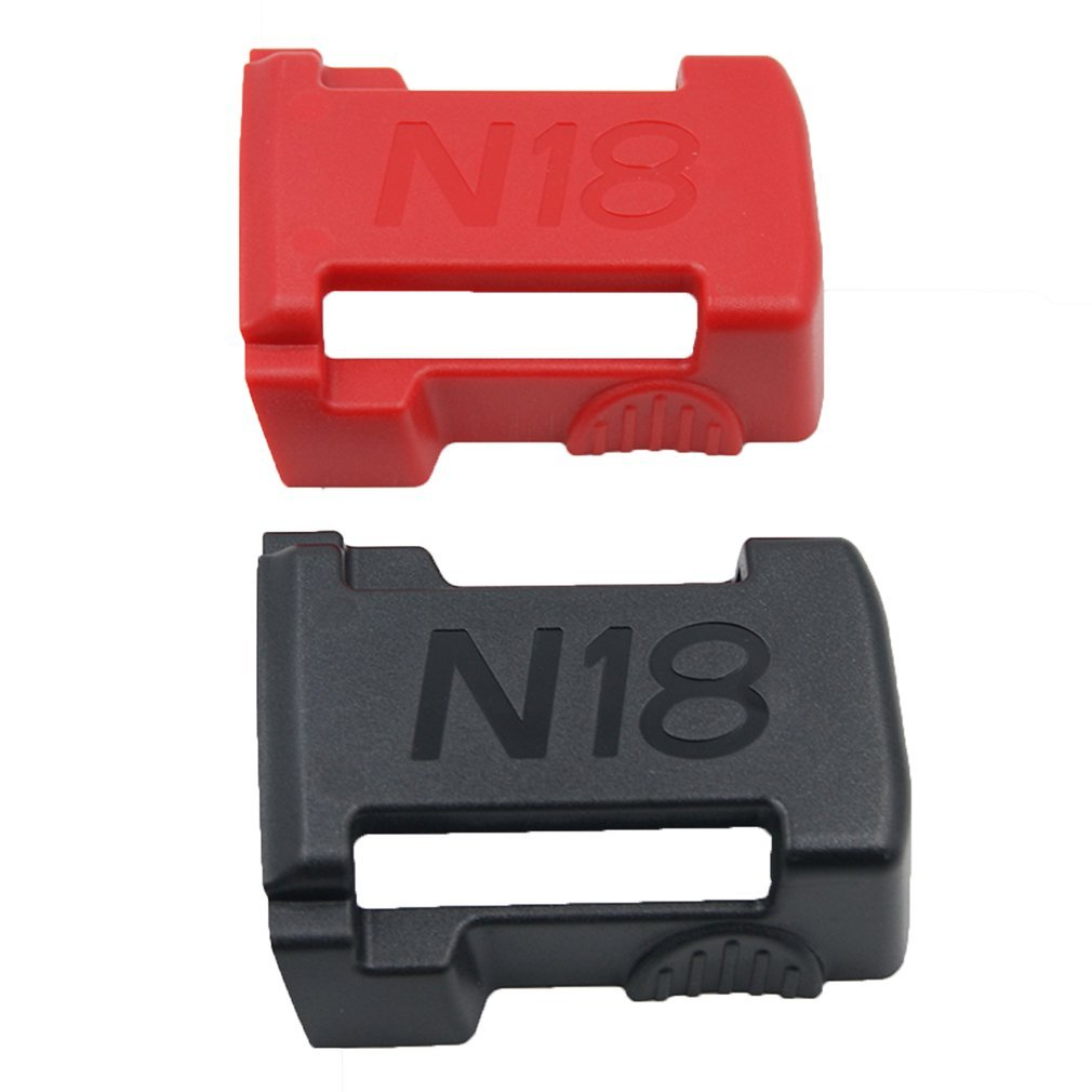 5x BATTERY MOUNTS For MILWAUKEE M18 18v Storage Holder Shelf Rack Stand Slots With Very Durable Quality
