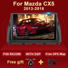 Radio Multimedia con GPS para coche, Radio con reproductor, navegador, 2 Din, DSP, 4 GB + 64 GB, Android 10, para Mazda CX5, CX-5, CX 5, 2012, 2013, 2014, 2015, 2016