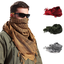 1 pçs caminhadas cachecol muçulmano hijab shemagh tático deserto árabe cachecóis masculino inverno windy militar à prova de vento