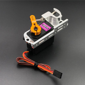 Image 4 - Servo Parabolic Switch Device Aerial Vehicle Throw Device Tarot Dispensers With Servo Arm For Remote Controller Cars Drone MG996