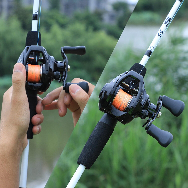 Sougayilang рыболовная удочка комбо 3 секции 175 м приманка