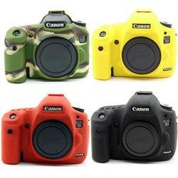 Мягкий силиконовый чехол для камеры DSLR, резиновый чехол, защитная сумка для Canon 60D 5D2 77D 750D 90D 80D 6D2 6D Mark II M6