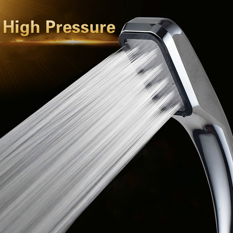 Quality Bathroom Rainfall Shower Head Water Saving Flow With Chrome ABS Rain Shower Head High Pressure Boost