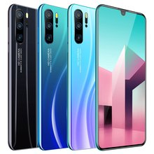New P86 Real 6.3-inch Ultra High-definition HD Water Drop Screen Android 9.1 System MTK6797 Ten-core Chip 1G+16G Smartphone