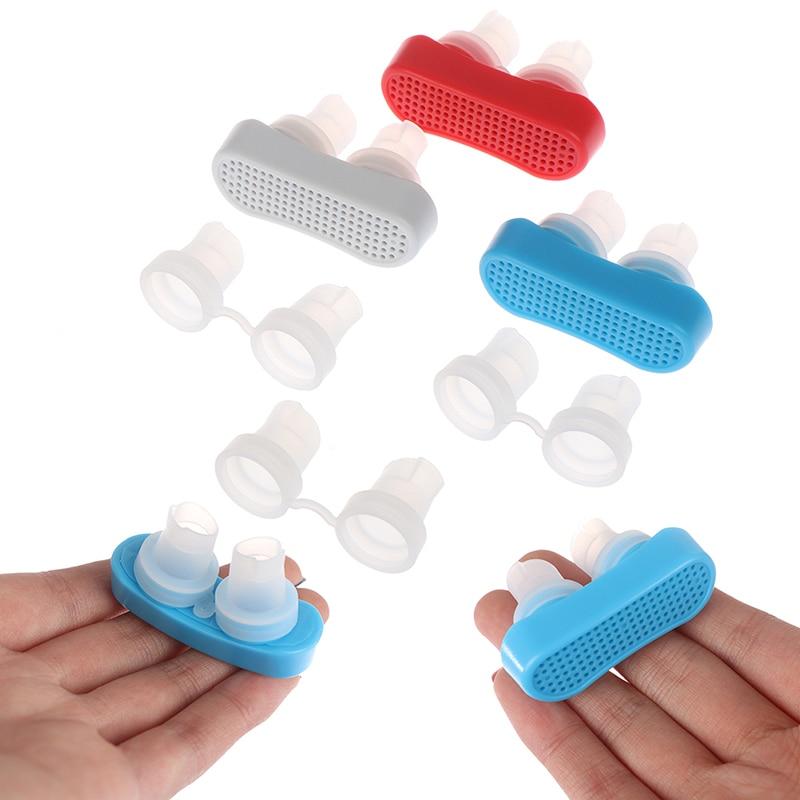 Anti Snore Nasal Silicone Dilators Apnea Aid Device Stop Snoring Nose Clip Nose Breathing Apparatus Stop Snoring Devices